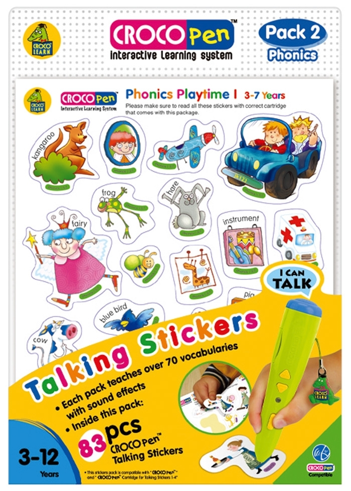CP85031-Talking Stickers (pack 2)-Phonics