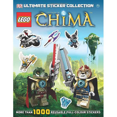 LEGO Legends of Chima Ultimate Sticker Collection 9781409330868