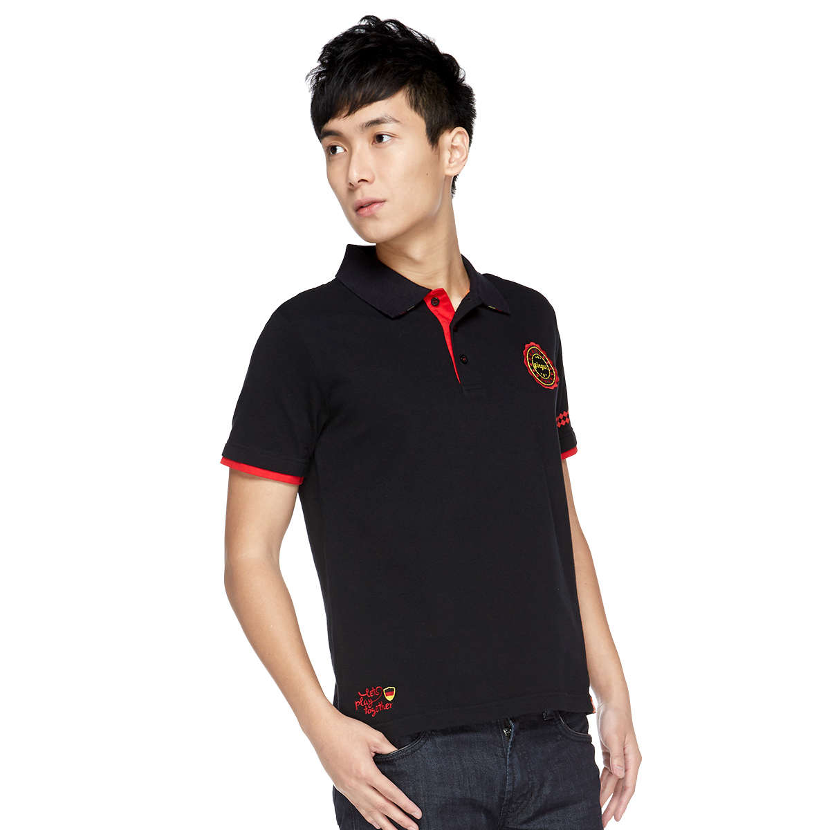 Lets play together (Germany) Unisex Polo Tee