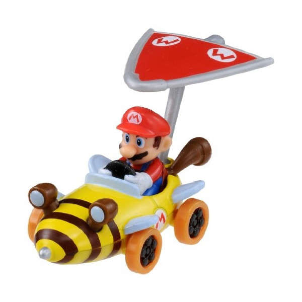 Takara Tomy Queen MARIO Kart 7 Nintendo Car with Super Kit Toy