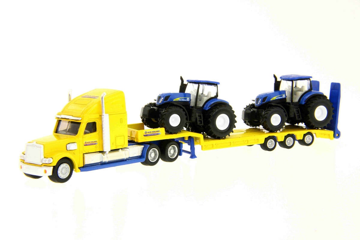 Siku 1805 New Holland Trucks with Tractors