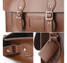 11 inch Satchel-Chestnut Brown