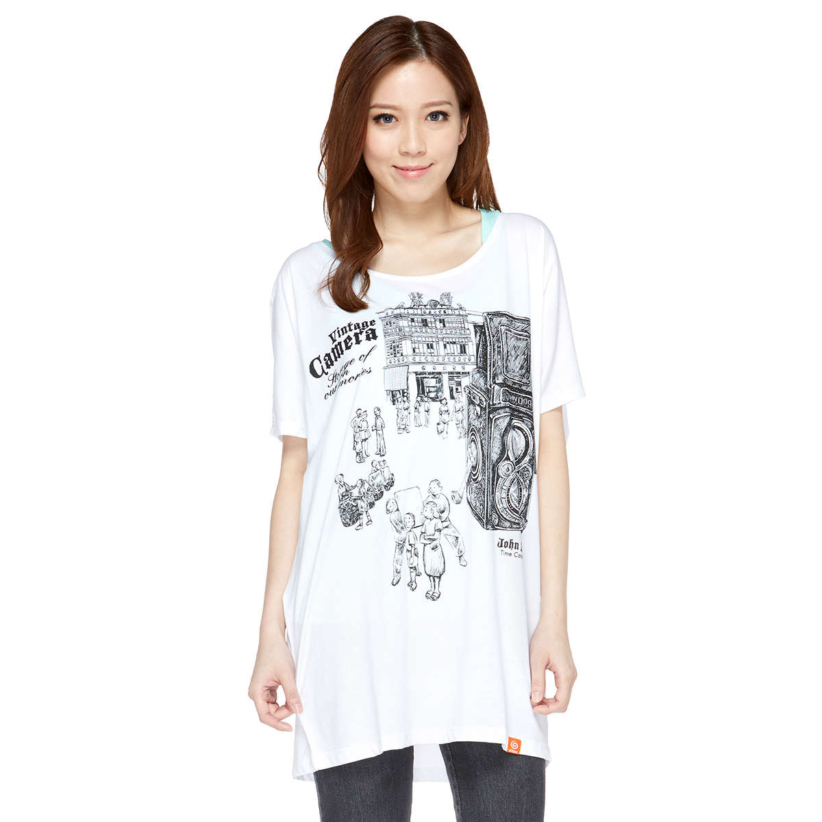 Time catcher 4 Lady Loose Long Tee