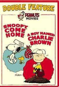 DOUBLE FEATURE (BOY NAMED CHARLIE BROWN/SNOOPY COME HOME)