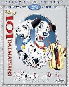 101 DALMATIANS (1961) (+DVD: DIAMOND ED)