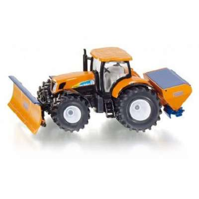 1/50 Siku 2940 Tractor with ploughing plate and salt