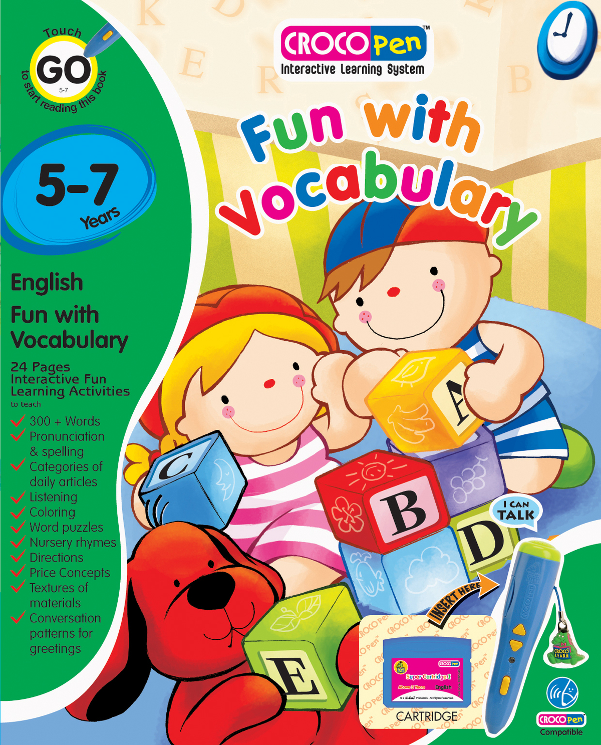 CP85003-Fun WithI Vocabulary  (YRS 5-7)