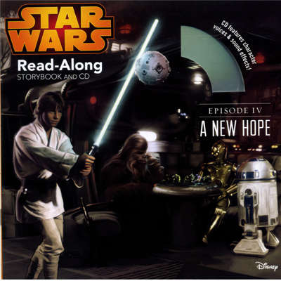 Star War: A New Hope Read-Along Storybook and CD