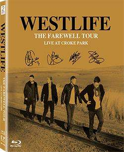 WESTLIFE - THE FAREWELL TOUR LIVE AT CROKE PARK(Blu-Ray)