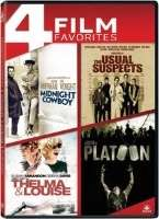 MIDNIGHT COWBOY/USUAL SUSPECTS/THELMA & LOUISE/PLATOON
