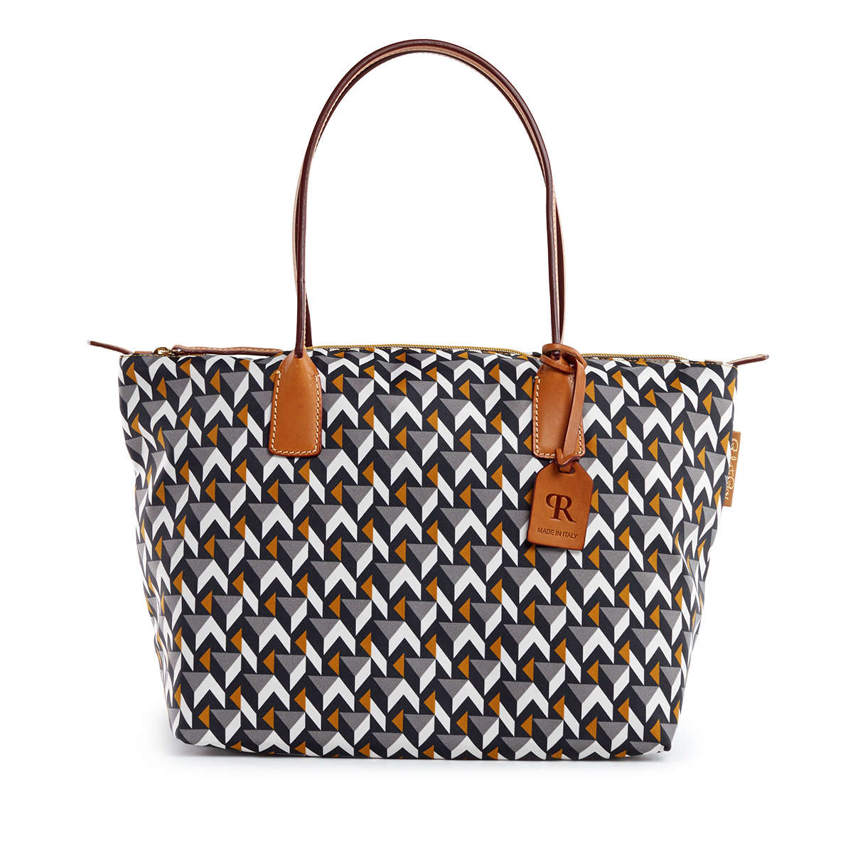 Robertina Cube Grey - Large Tote