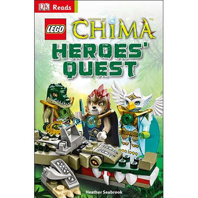 LEGO Legends of Chima Heroes' Quest (DK Reads) 9781409347583