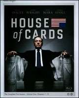 HOUSE OF CARDS: COMPLETE FIRST SEASON (2013) (4BR)
