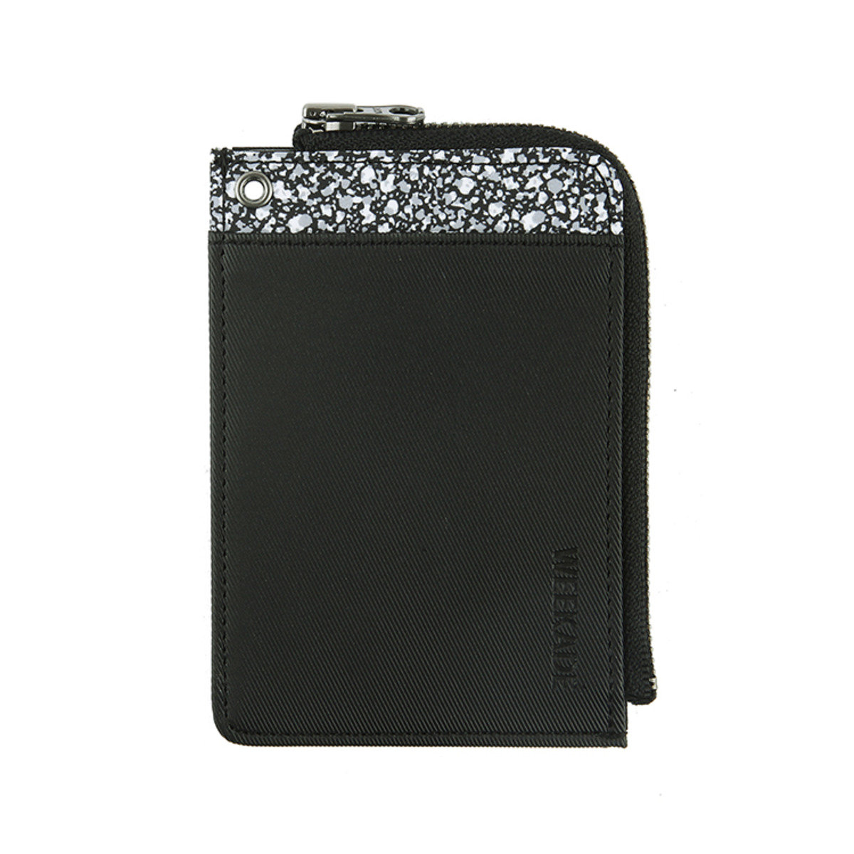 WEEKADE LET'S ZIP WALLET 小錢包 - Black Marble