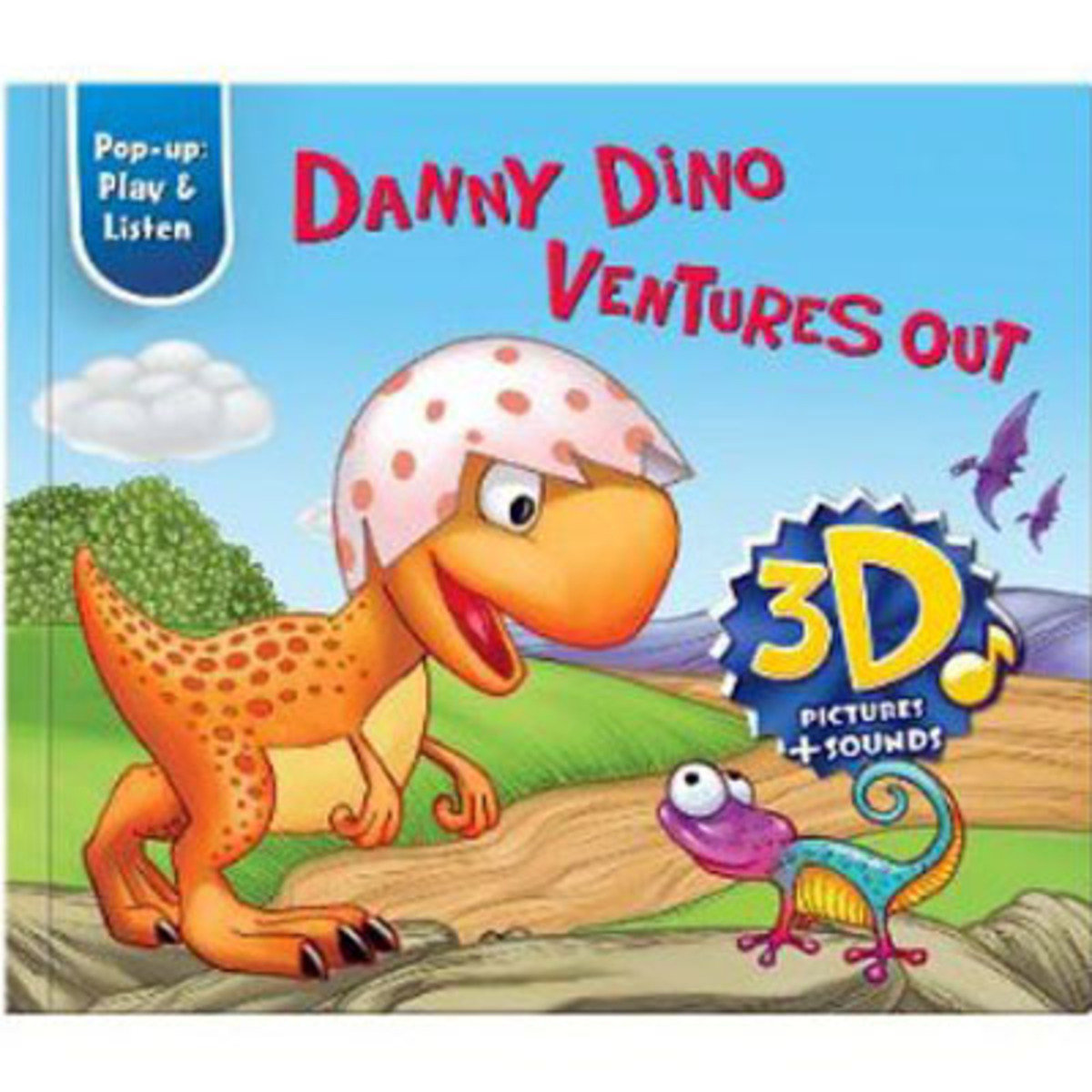 Danny Dino Ventures Out (Pop-up: Play & Listen) 9781618890344