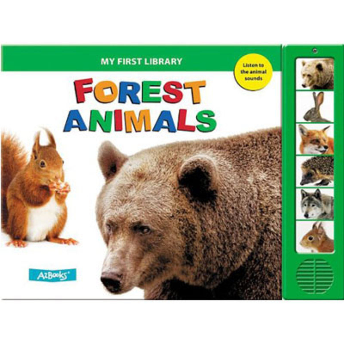 Forest Animals (My First Library) 9781618891204