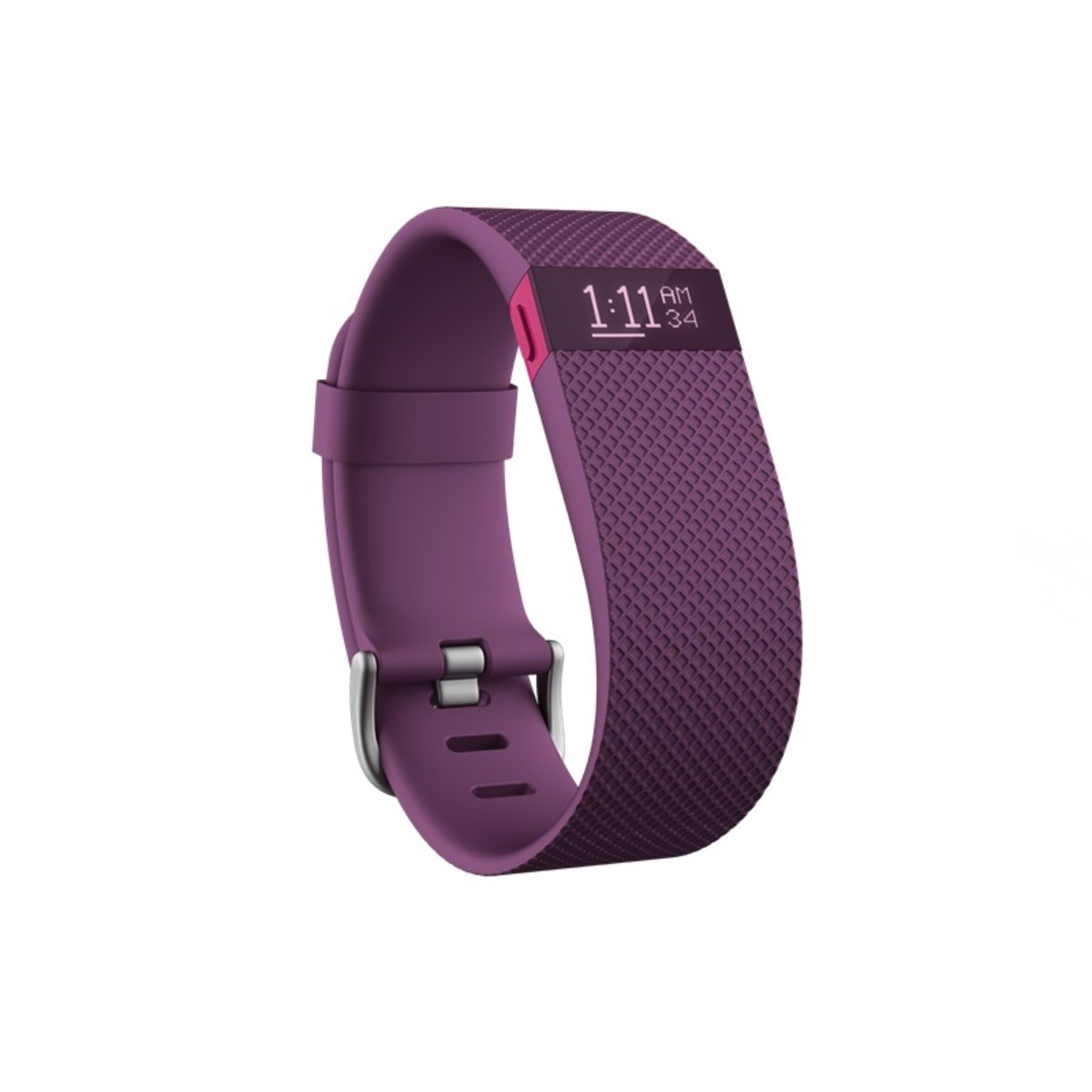 Fitbit Charge HR, Plum Large