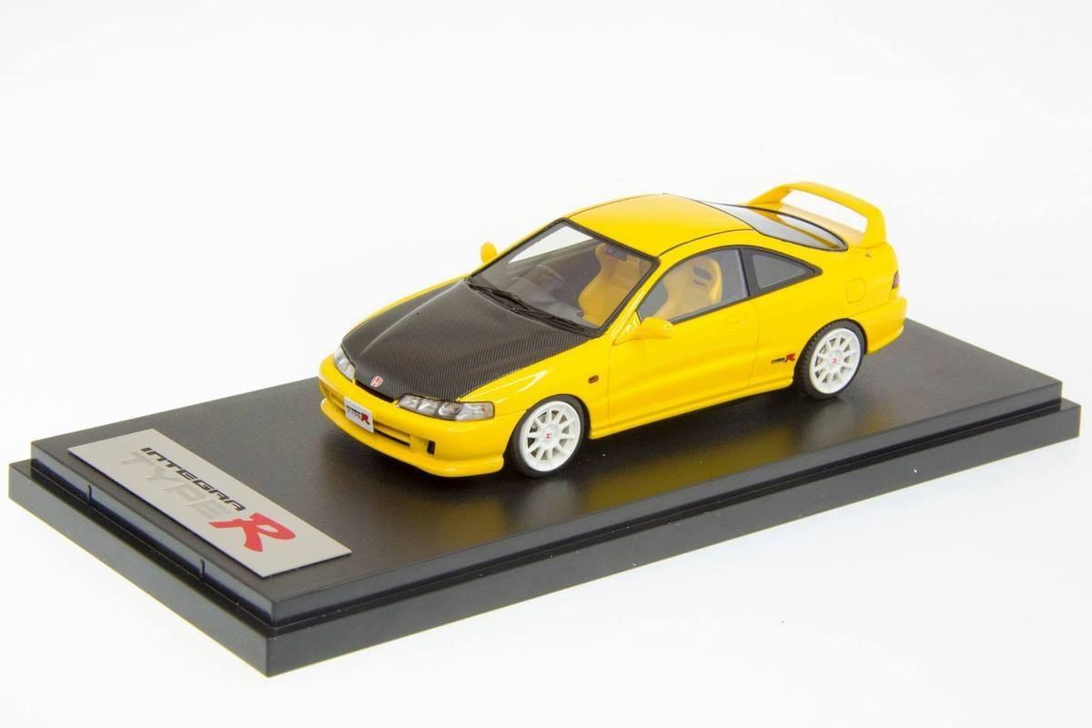 1/43 MARK 43 - HONDA INTEGRA TYPR RX (DC2) CARBON BONNET
