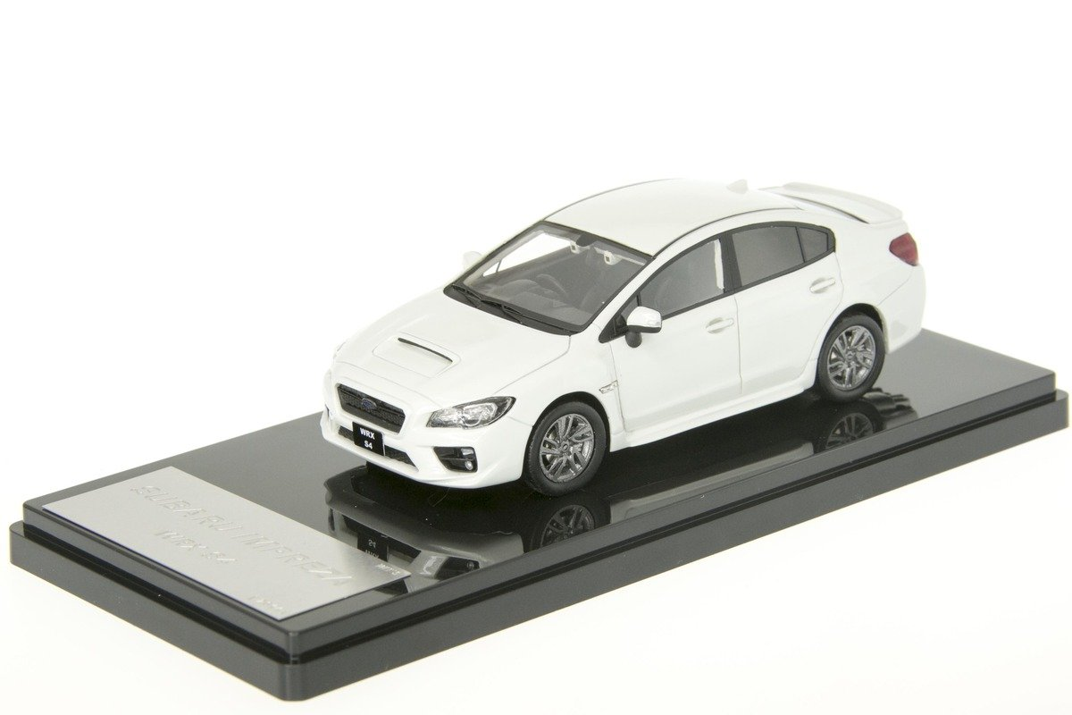 1/43 WIT'S - W422 SUBARU WRX S4 2.0GT EyeSight 2014 CRYSTAL White