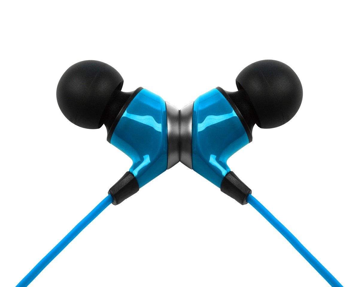 NLite In-Ear Headphones, Blue